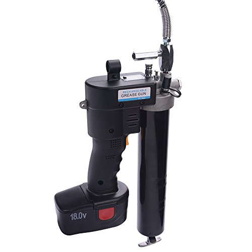 HM&FC Lubrication 18 Volt Cordless Grease Gun with 1 Batteries by HM&FC (Image #2)