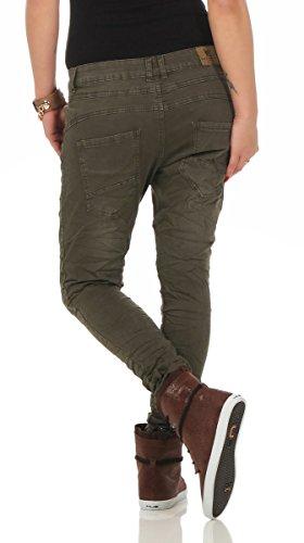 Bleu Jeans noir Femme 36 Lexxury Vert EqF1x1n