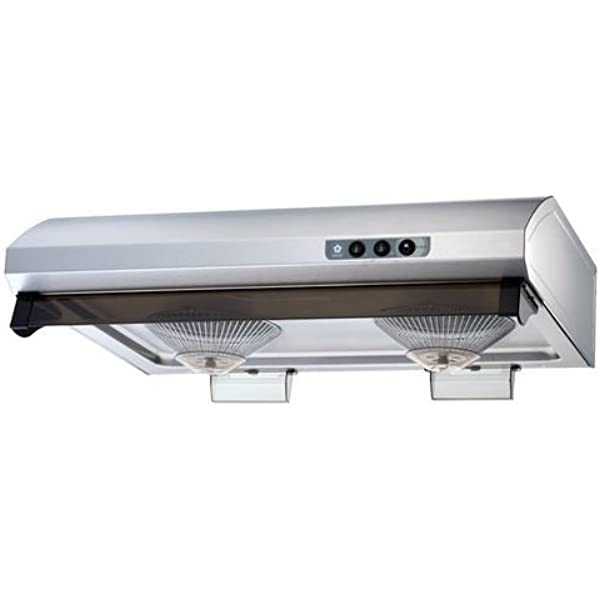 Sakura 30 Hairline Stainless Steel Under Cabinet Range Hood R747 Ii 30hs Amazon Ca Home Kitchen