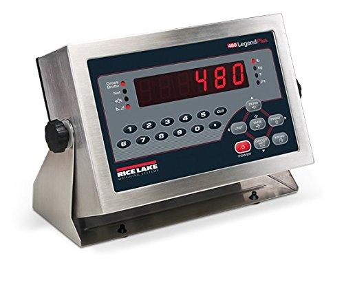 Rice Lake, 480+ Legend Series, Digital Weight Indicator, 115 VAC, NTEP ()