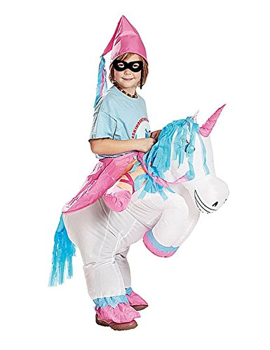 Unicorn Child Costumes (Yiquanzhi Child Unicorn Fancy Dress Costume Cosplay Outfit Jumpsuit For)