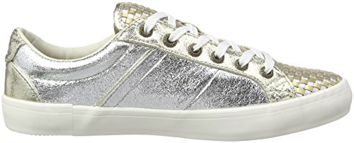 Basses Clinton Silber Pepe Jeans Interlaced Argent Femme 934silver Sneakers HpHIrwc5q