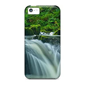 Jeffrehing Iphone 5c Hybrid Tpu Case Cover Silicon Bumper Golitha Falls