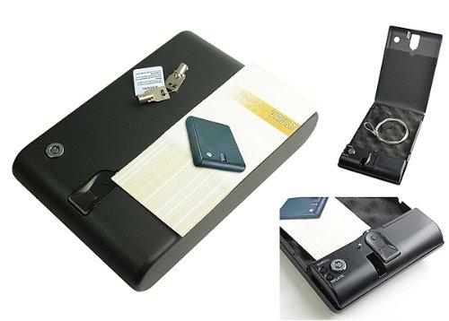 Eyepower Pistol Gun Vault Handgun Biometric Fingerprint Safe Box By Eyepower