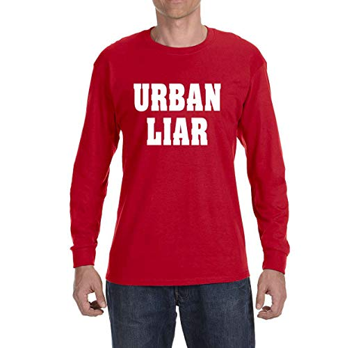Tobin Clothing RED Urban Liar Long Sleeve Shirt Adult Large