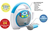 Mother Goose Club Bluetooth Sing Along Portable MP3 Player Real Mic 24 Songs built in Storesup To 16 Hours of Music 1 GB built in memory USB Port Expands Your Content built in Rechargeable Batteries Reviews