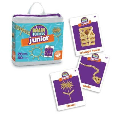 Set Builder Junior (MindWare KEVA Junior Brain Builders Playset)
