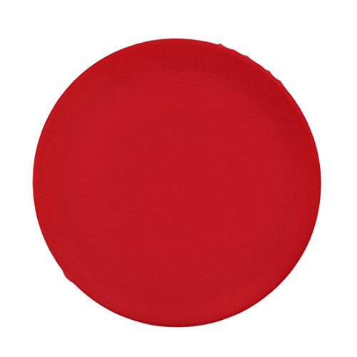 - Freahap Stool Chairs Covers Dust-proof Round Slipcover Fit Stand Barstools Red 2Piece