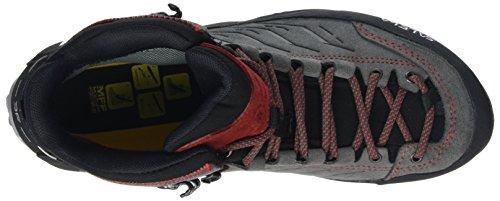 Homme Gore Salewa Trainer Charcoal Mid Trekking Tex Et Randonnée MTN Chaussures de Papavero Bergschuh 4720 Multicolore xCCwPH