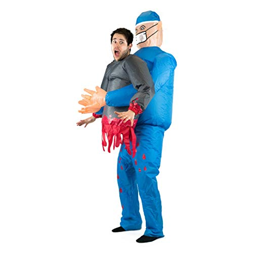 Bodysocks Adult Inflatable Doctor Fancy Dress Costume