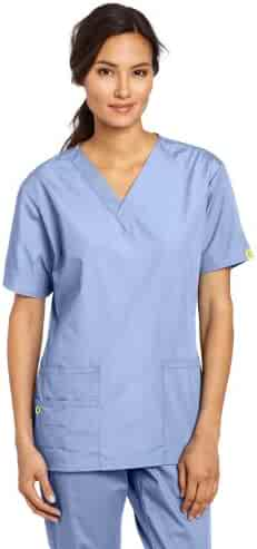 WonderWink Women's Scrubs Bravo 5-Pocket V-Neck Top