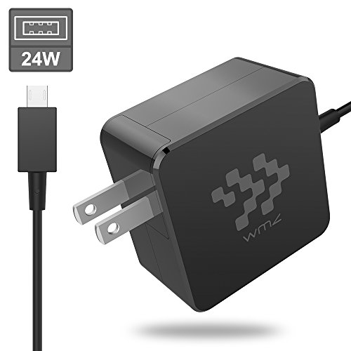 24W Laptop Power Charger,WMZ Replacement AC Adapter Notebook Fast Charger 8.2 Ft 12V 2A Compatible for Asus Chromebook Flip C100 C100P C100PA-DB02 Chromebook C201P C201 C201PA P/N by WMZ