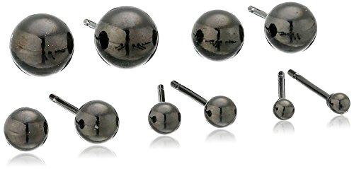 KONOV Womens Stainless Steel Earrings