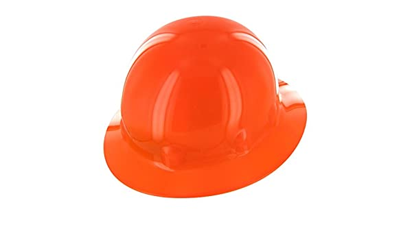 Fibre-Metal by Honeywell E1RW46A000 Super Eight Full Brim Ratchet Hard Hat, Hi-Viz Strong Orange: Amazon.es: Bricolaje y herramientas