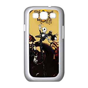 Samsung Galaxy S3 9300 Cell Phone Case White_Kingdom Hearts Halloween Town_001 D3I3C
