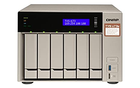 QNAP TVS-673E NAS Torre Ethernet Gris - Unidad Raid (Unidad de ...