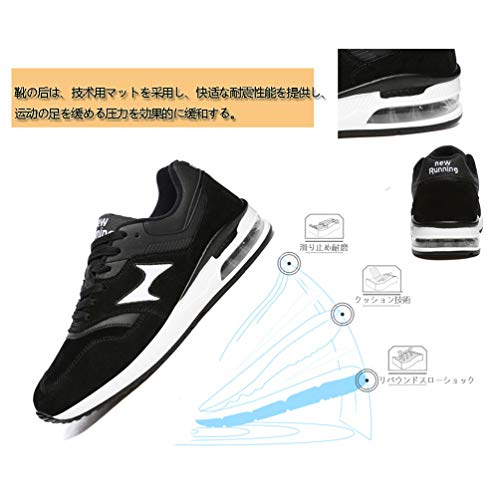 スポーツシューズ ランニングシューズ ウォーキングシューズ エアーソールスニーカー アウトドアクッション性 ジム 運動 靴 軽量 通気 スニーカー 通勤 通学 日常着用 メンズ レディース