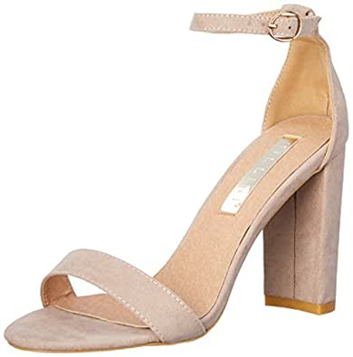 BILLINI Women's Jessa Shoes, Nude Suede, 10 AU