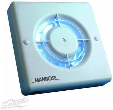 Manrose Xf100pir murale//ventilateur de plafond avec d/étecteur de pr/ésence