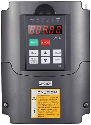 ZJN-JN 周波数コンバータ、スピンドルモータ制御用220V 3KW単相インバータ出力3相周波数コンバータインバーター 工業用モータ