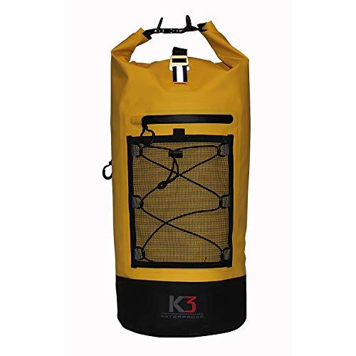 K3 Poseidon Waterproof Dry Bag Outdoor Backpack Canary 20 - Canary Bag