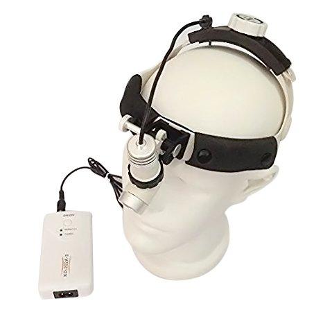 3W Surgical Head Light Lamp Medical Headlight Cold Light KD202A-3 AC/DC Optional