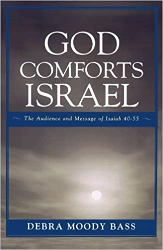 Book God Comforts Israel