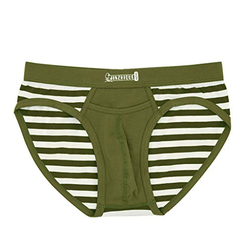 Fastbot mens underwear, Thong Briefs Soft Breathable Knickers Sexy Briefs Army Green from Fastbot mens underwear
