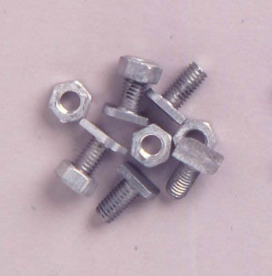 Halls Cropped Head Nuts & Bolts (Pack of - Halls Greenhouse