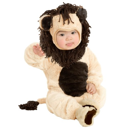 Lion Mane And Tail Costume (Infant 6-18 Months - Super PLUSH Little Lion Costume)