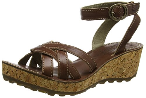Vola Londra Damen Geza941fly Wedge Braun (tan 001)