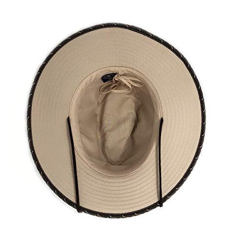 5a479e93d84660 Wallaroo Hat Company Men's Cabo Fedora – UPF 50+, Classic Surf Hat, Designed