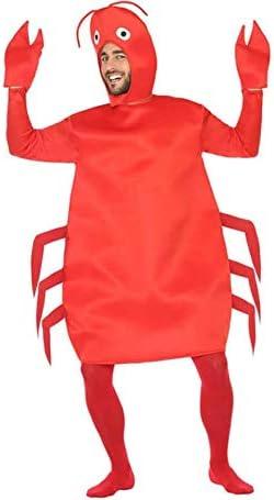 Atosa-54246 Disfraz Cangrejo, Color Rojo, M-L (54246): Amazon.es ...