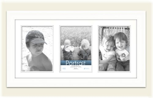 Timeless Frames Lauren Collage Photo Frame Color: Pure White For Sale