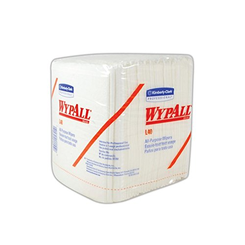 KIM CLARK 05701 Kimberly-Clark WYPALL Light-Duty General Purpose Wipers, 12.5'' x 13'', White (Pack of 18) by KIM CLARK (Image #2)