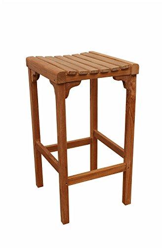 - Anderson Teak Montego Backless Bar Chair, Dimone Sequoia