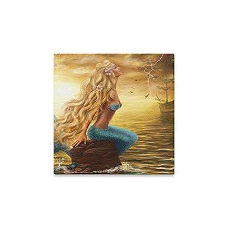 41mYTC%2BtJiL._SS450_ Mermaid Wall Art and Mermaid Wall Decor