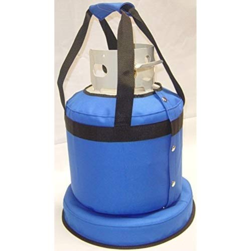 Blue Flame TTH.PBL Propane Tank Cover with Handles - Pacific Blue by Blue Flame