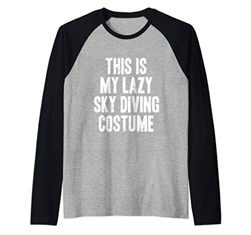 This is my lazy Sky Diving costume halloween