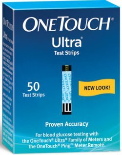 ONE TOUCH ULTRA TEST STRIPS 50 Test Strips (NFR) (3538850...
