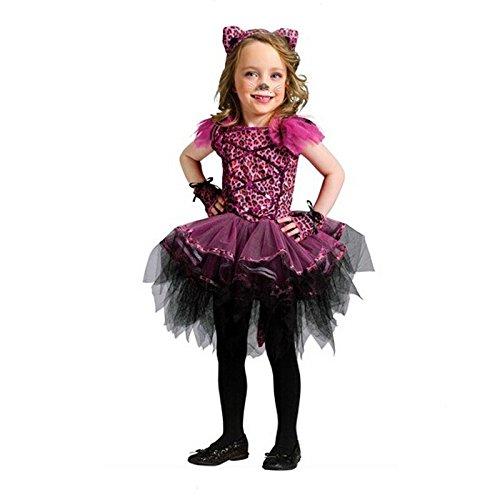 LLY Halloween Leopard Cat Girl Costume vêtements de Danse vêtements RPG, s