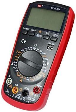 YISUNF Electrical Multimeters, Digital Multimeter Handheld Multimeter High Precision Range Multimeter Portable Buzzer Alarm