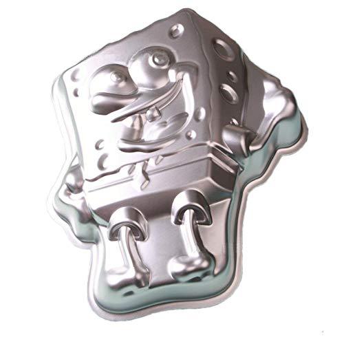 ZJWEI 11.4 Inch Plane Aluminum Alloy 3D Cake Mold Baking Mould Tin Cake Pan - baby ()