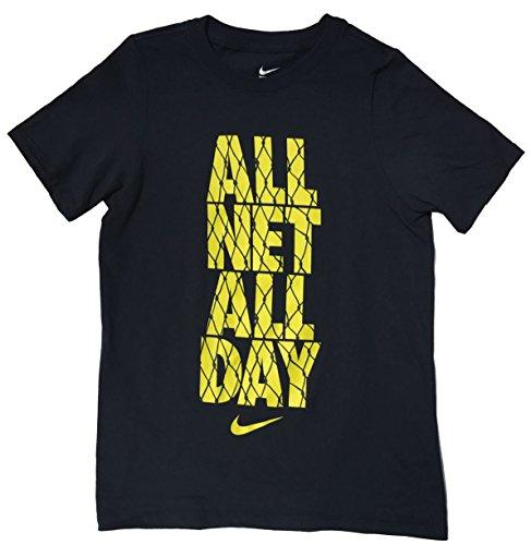 NIKE Big Boys' All Net All Day Basketball T-Shirt (Nike T-shirts Basketball)