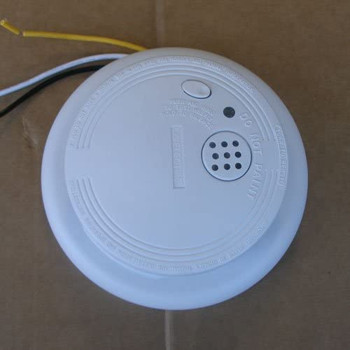 Universal Security Instruments 1204 Wire-In Smoke Alarm with Battery Backup 4 Pack