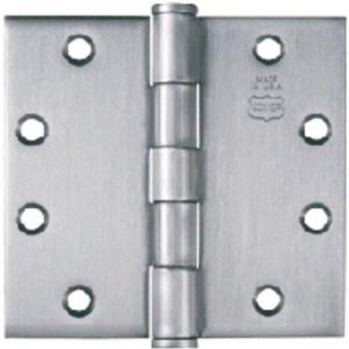 Bommer 3029-8-600 8in Double Acting Spring Hinge-Mortise Type-Steel Base-Primed for Painting