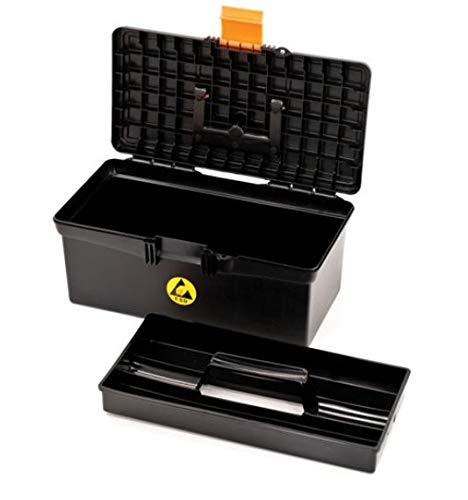 Botron B0948 ESD Tool Box with Lift Out Tray