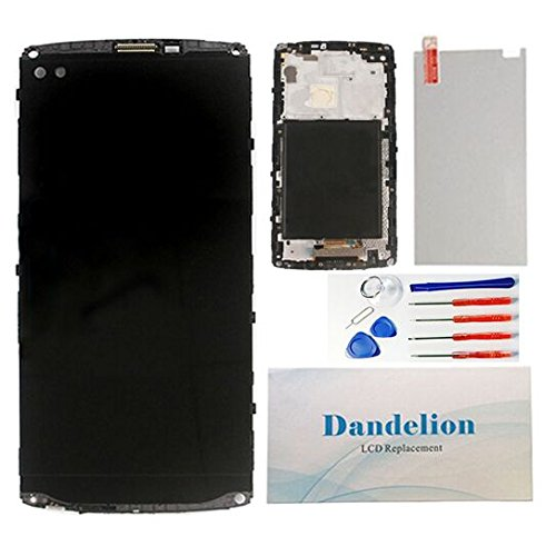 DANDELION For LG V10 H900 H901 VS990 Full LCD Display Touch Screen Digitizer Assembly+ Frame Replacement Part Tools (Black) by Dandelion (Image #4)
