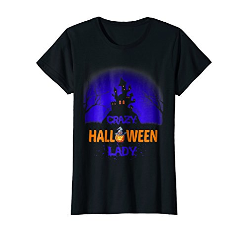 Best Crazy Halloween Lady Costume For Women Idea Gifts Shirt