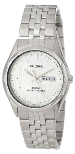 Pulsar Men's PJ6029 Dress Silver-Tone Watch